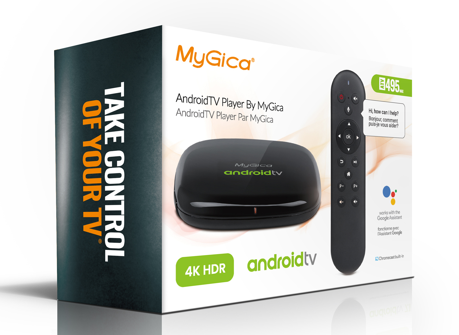 MyGica ATV495MAX Certified AndroidTV Box