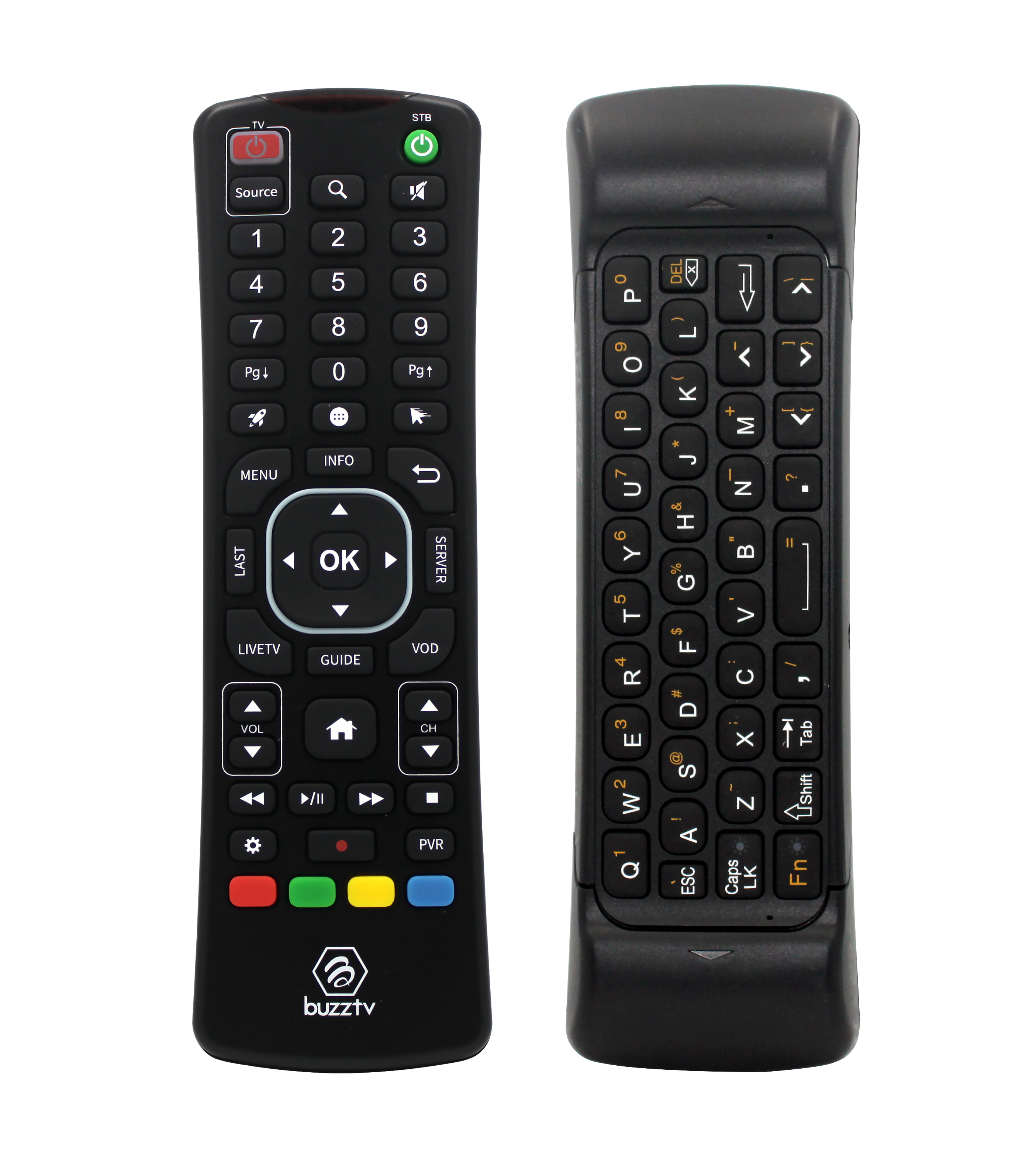 BuzzTV ARQ-100 Wireless Air Mouse Keyboard Remote