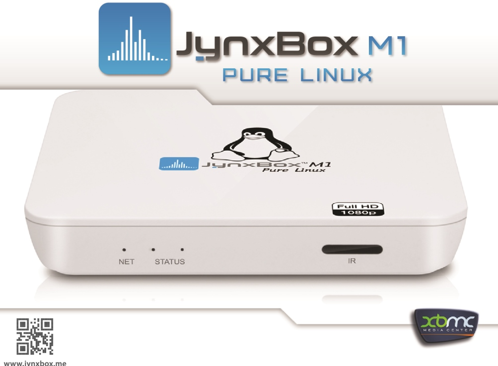 Jynxbox M1 Pure Linux TV Box
