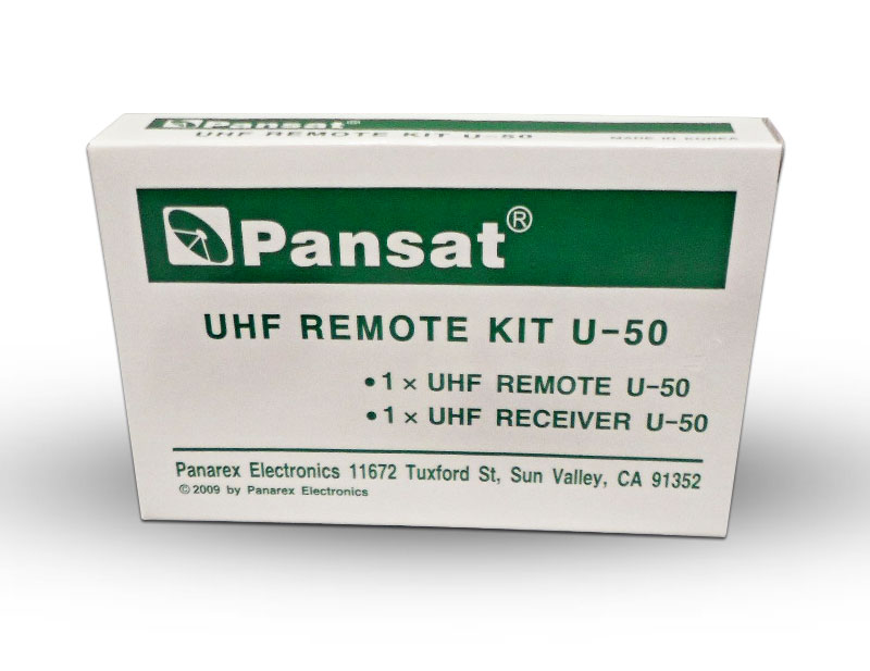 Pansat & Linkbox UHF Remote Kit U-50