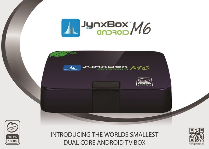 Jynxbox M6 Dual Core Android TV Box