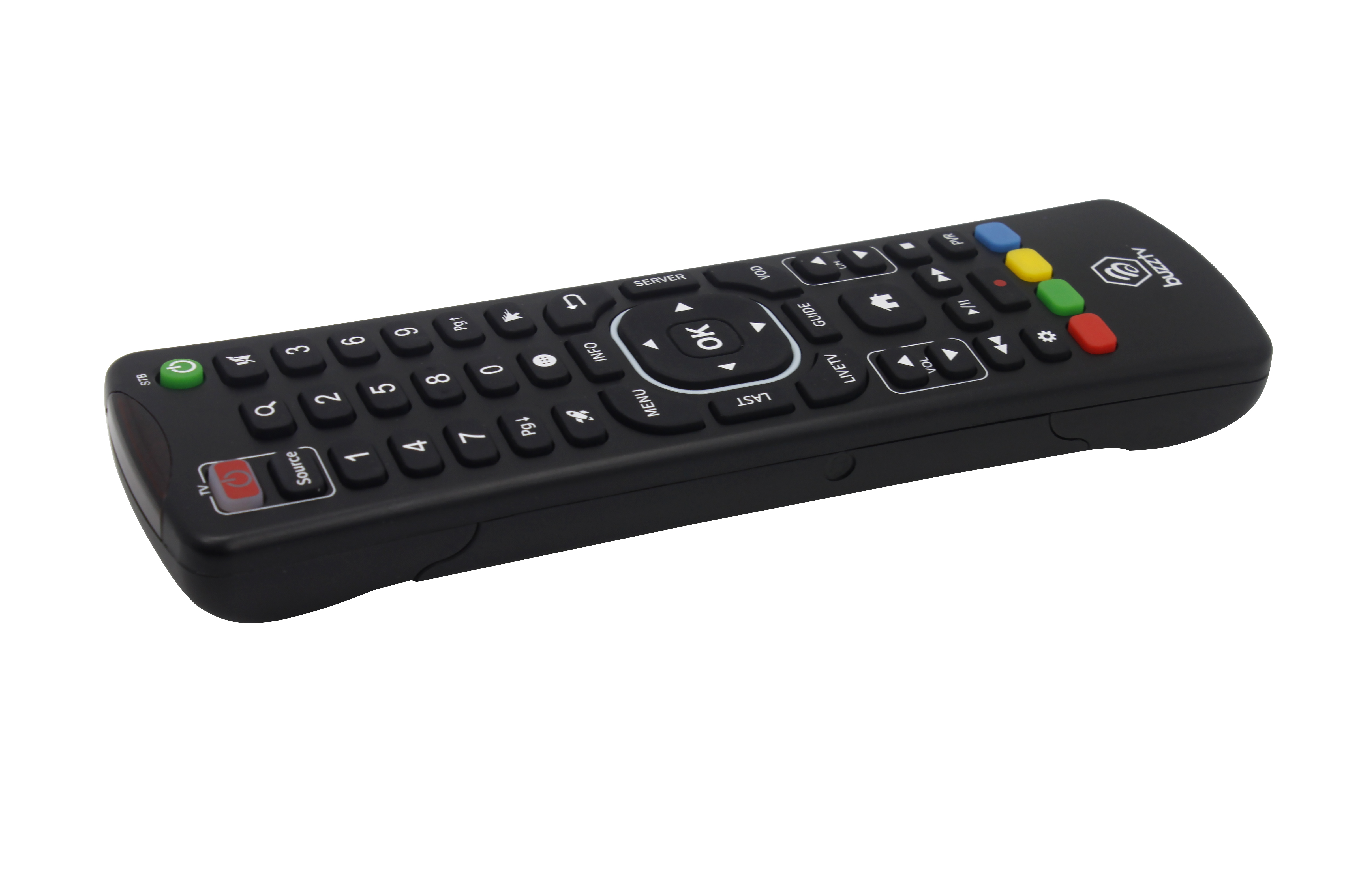 BuzzTV ARQ-100 Wireless Air Mouse Keyboard Remote - WorldWidesatellites