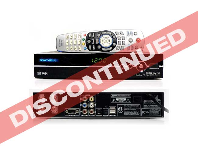 Sonicview 360 Elite Dual Tuner PVR <b>**SOLD OUT**</b>
