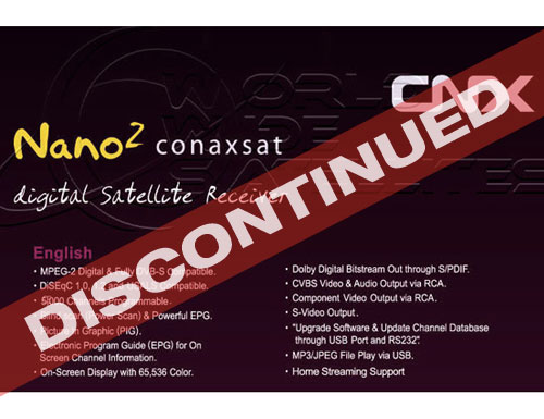 Conaxsat Nano 2 USB PVR  <b>**Sold Out**</b>
