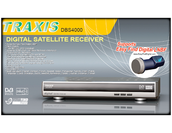 Traxis DBS4000 with EasyFind Digital Technology
