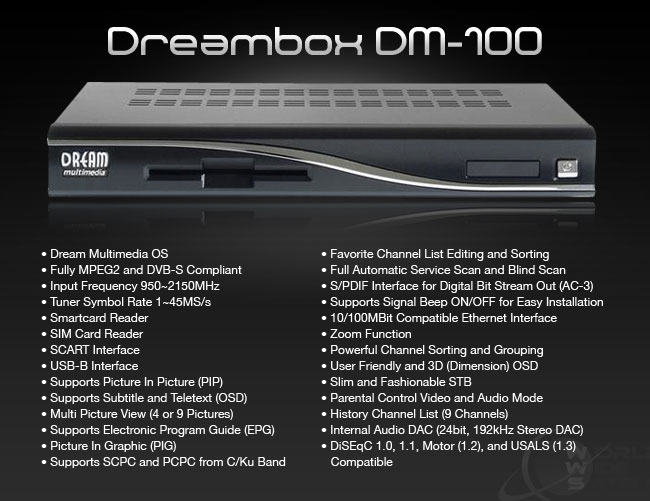 Dreambox DM-100 V2