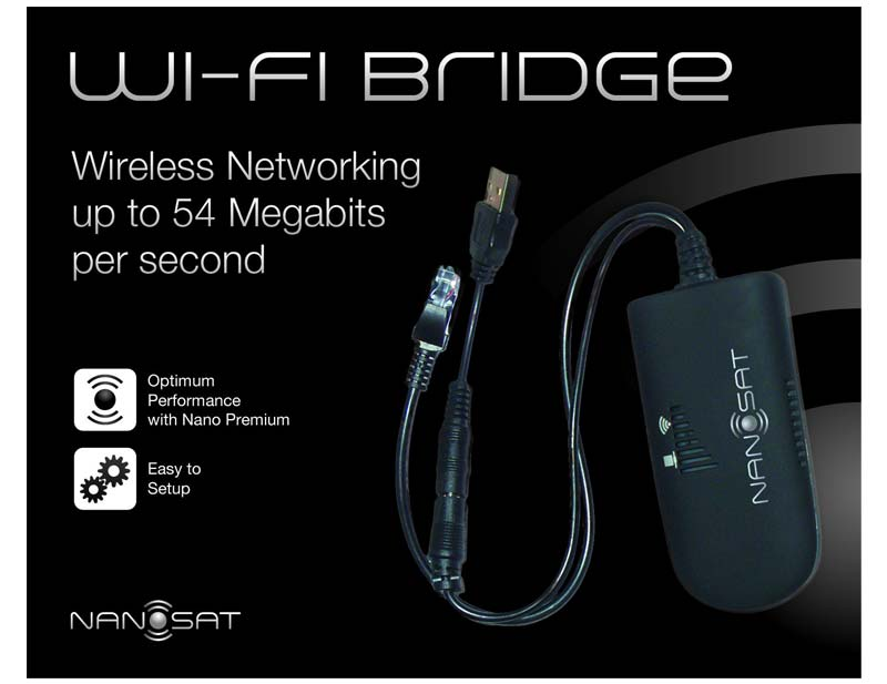 Nanosat Wireless WiFi Bridge (Vonets VAP11G))
