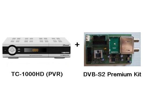Pansat TC-1000HD + DVB-S2 Premium Kit
