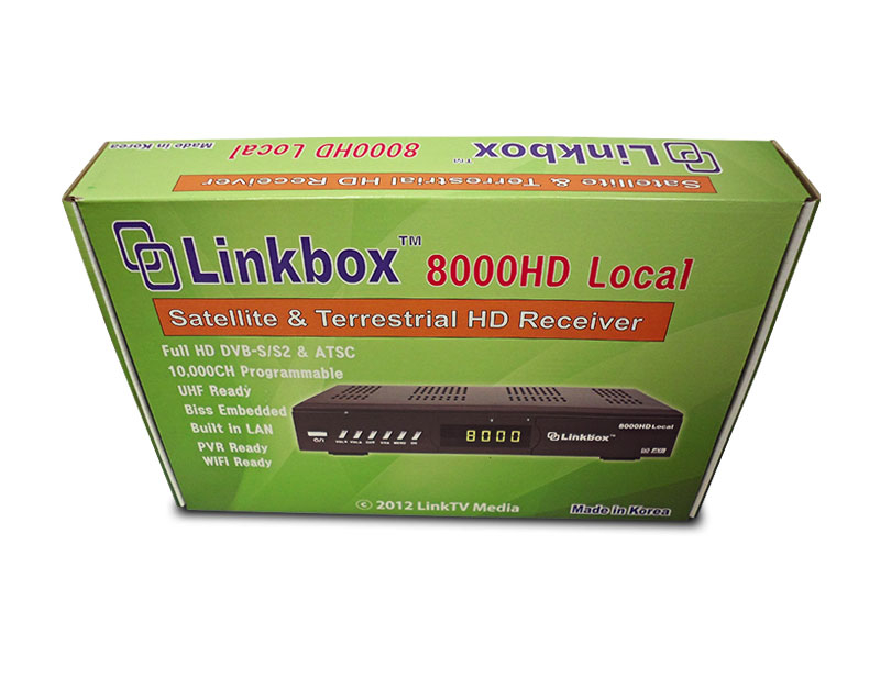 Link Box Local HD 8000 Gift Box
