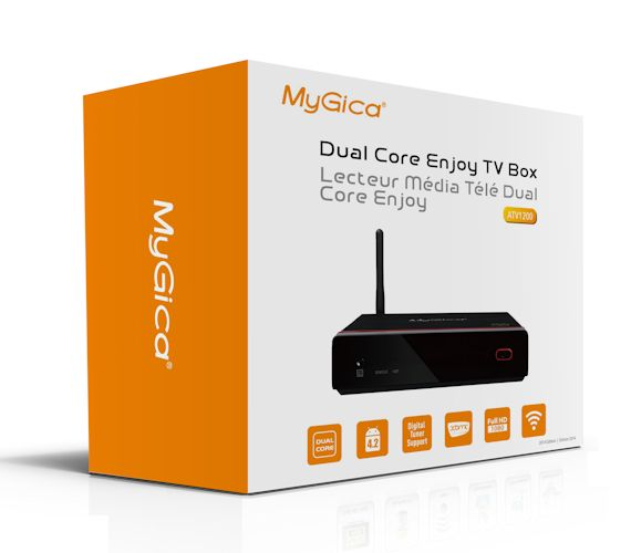 MyGica ATV1200 Dual Core Android TV Box  <b>**DISCONTINUED**</B>