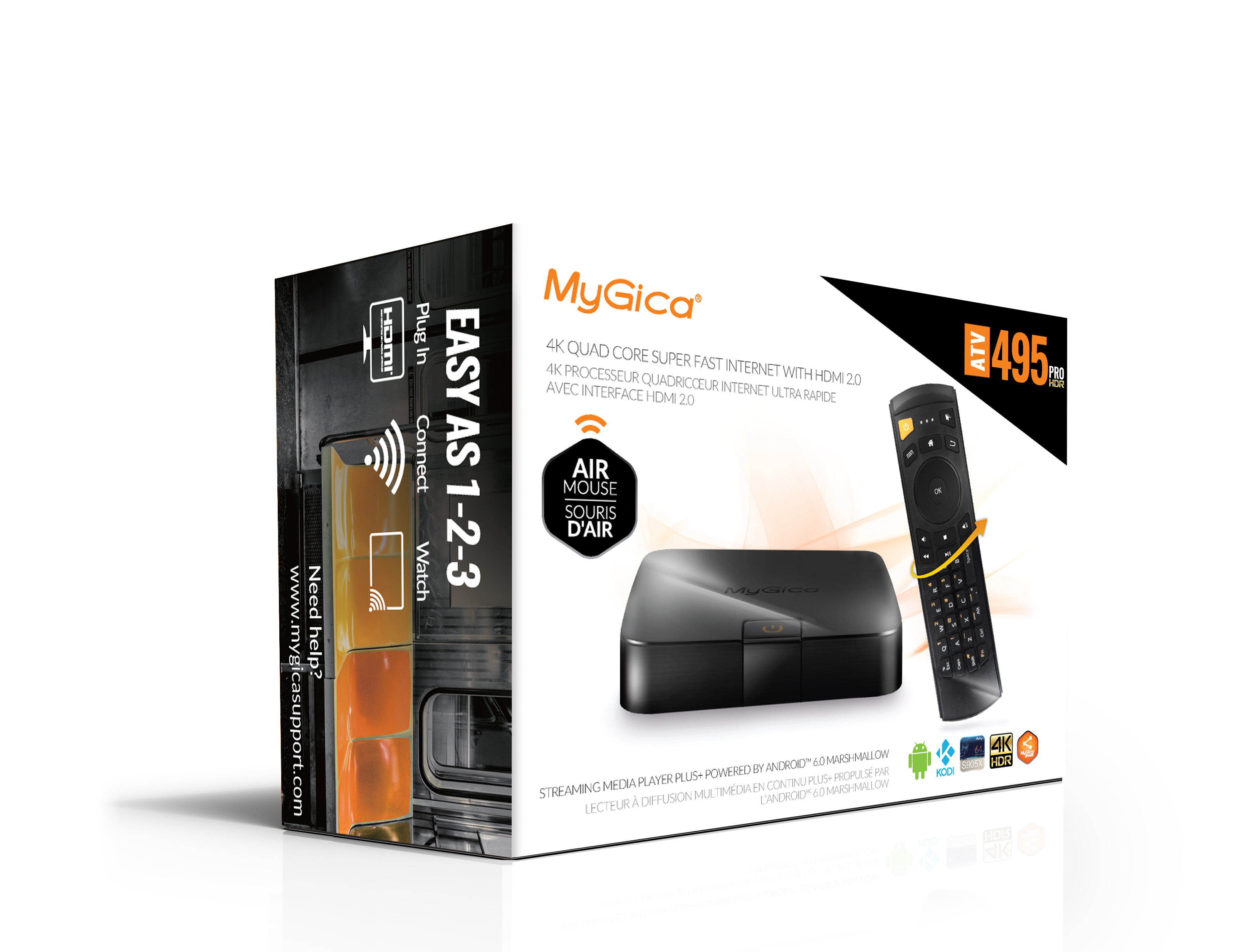 MyGica ATV495 PRO HDR Quad Android Ultra 4K HDMI 2.0 HDTV Box