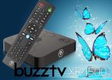 BuzzTV XR 4500 Android IPTV OTT set-top HD 4K TV Box