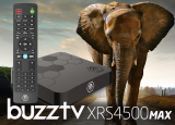 BuzzTV XRS 4500 MAX Android IPTV OTT set-top HD 4K TV Box
