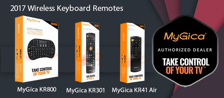 MyGica QWERTY Remotes