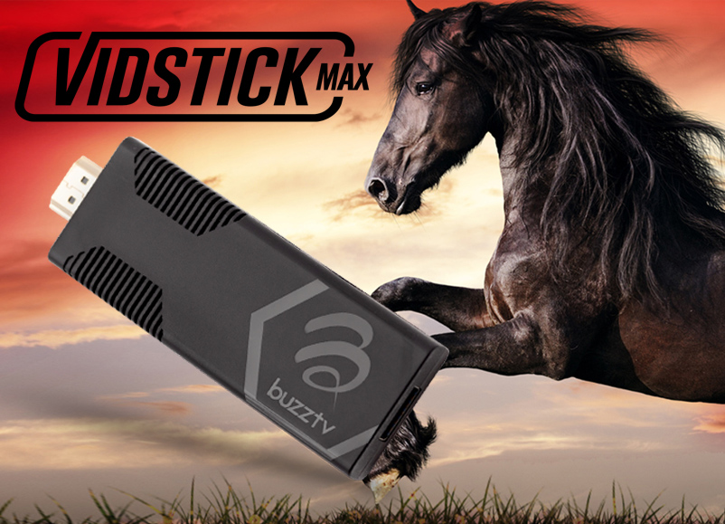 BuzzTV VidStick MAX Android 4K Video Stick