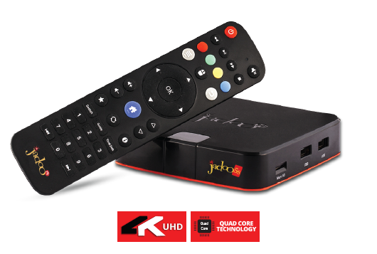 JadooTV 5s South Asian IPTV 4K HD Android