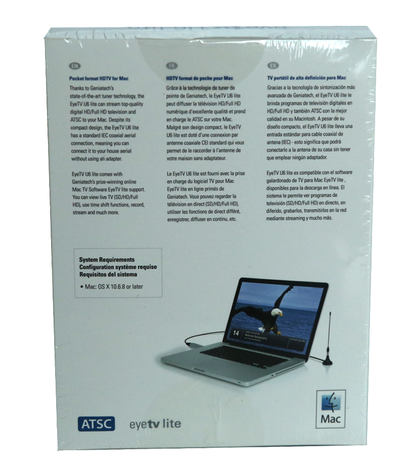 eyeTV U6 Lite - Digital TV for Mac & PC