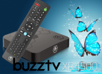 BuzzTV XR 4500 Android IPTV OTT set-top HD 4K TV Box